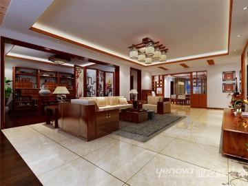 天庆-230㎡-新中式风格