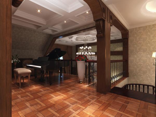二楼走廊位置设计效果展示