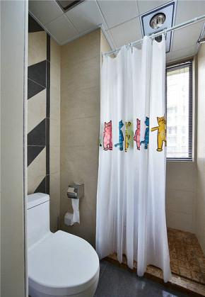 简约 欧式 二居 小资 宜家 北欧 卫生间图片来自佰辰生活装饰在89平方宜家北欧房的分享