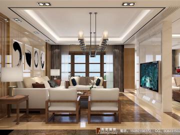 新中式风格赏析.高度国际装饰