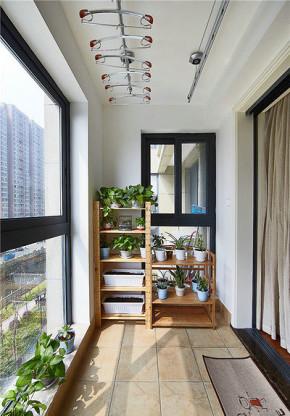 简约 欧式 二居 小资 宜家 北欧 阳台图片来自佰辰生活装饰在89平方宜家北欧房的分享