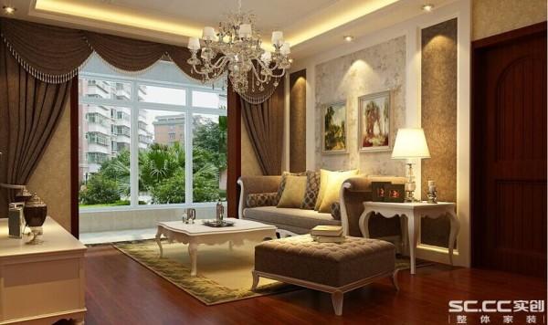 大面积的落地采光,营造了简约和落落大方的气质,在家居运用白色就是欧式风格最好的诠释,既含蓄又饱满,既内敛又耐看。