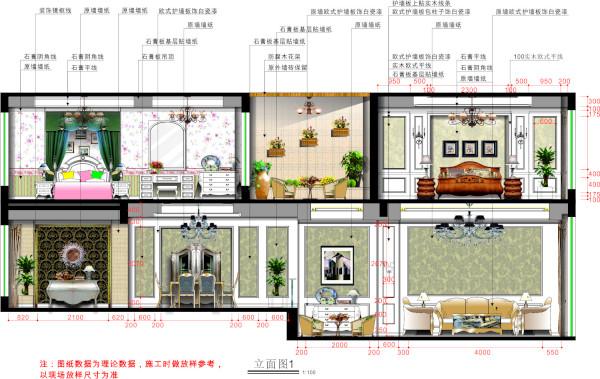 二层又以简美的设计为主,但又不忘和一层相呼应,神色的家具地板软装配饰更让起居室感觉更加温馨舒适。