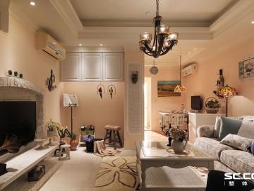 三居室美式乡村空间体现到极致