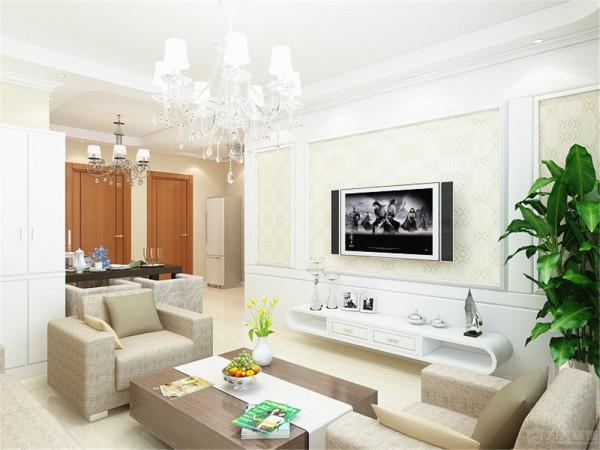 本户型为现代简约风格上榀坐两室两厅一厨一卫95㎡。此套房型的装修采用了现代简约的装修风格。