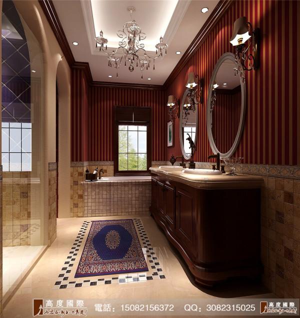 保利百合花园卫生间细节效果图---高度国际装饰设计