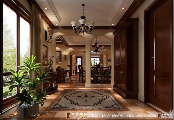 保利百合花园门厅细节效果图---高度国际装饰设计