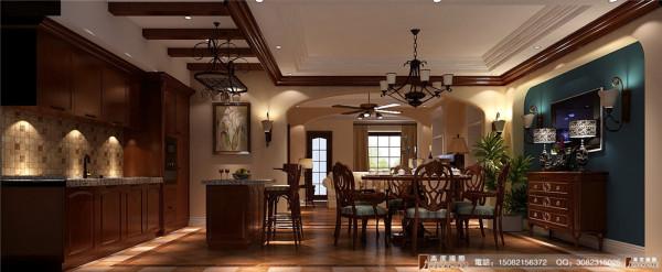 保利百合花园餐厅细节效果图---高度国际装饰设计