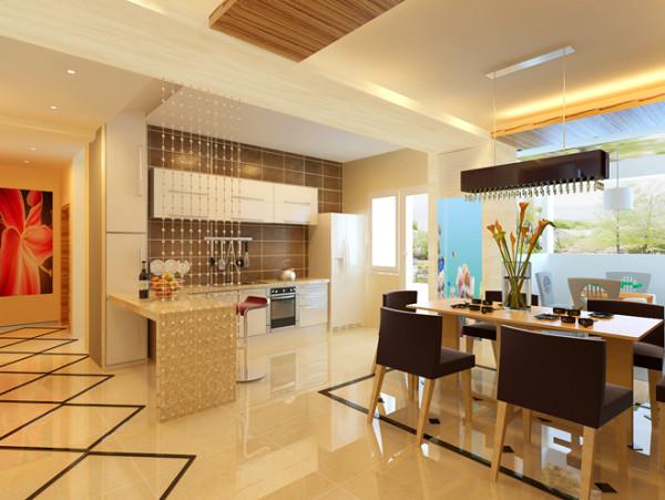 厨房空间其实非常的狭窄,经过设计师的精心设计,最终改造为开放式厨房。麻雀虽小五脏俱全,不仅有定制的橱柜,还有尺寸合适的冰箱,融为一体简约的现代厨房。
