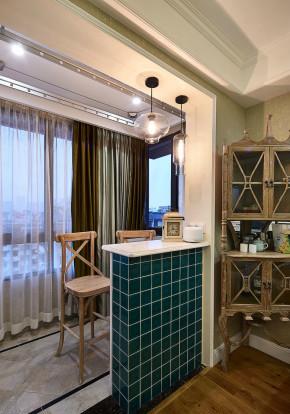法式 浪漫 温馨 一居 小资 阳台图片来自佰辰生活装饰在一室一厅 78平米法式风格的分享