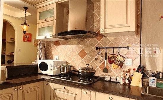 丰立装饰4.2万COCO金莎49平混搭 厨房
