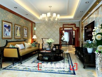 佳星园170平米古典风格装修设计