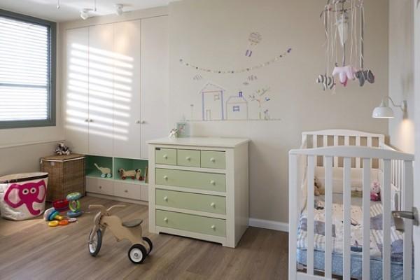 紧凑的空间布局,悦目的色彩搭配加上趣味的涂鸦墙与墙面彩绘,让小公寓舒适感和魅力满分。