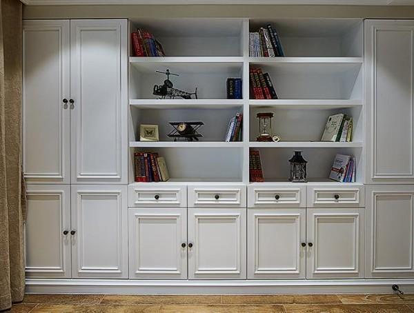 书房收纳柜细节