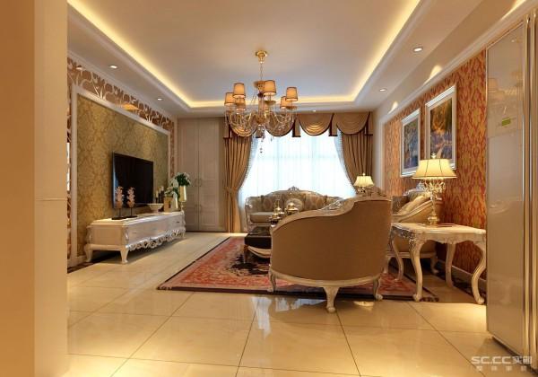 此户型空间规划合理,人性化的功能需求均能满足。本案以简欧的风格设计理念出彩; 线条流畅、色彩明快、温馨,主题框架白色的室内木门及垭口衬托着米黄色的墙面。