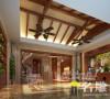 观澜高尔夫东南亚风格400平别墅
