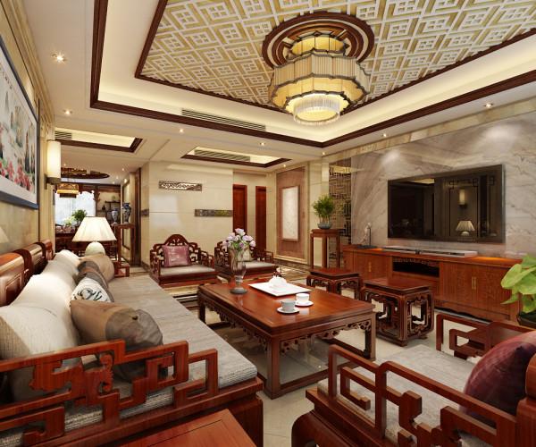 客厅整体家具摆置设计效果展示