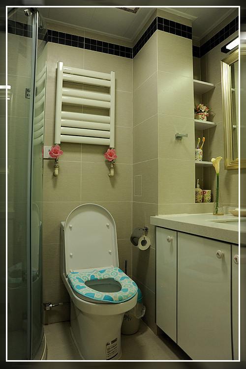 简约二居白领收纳80后小资卫生间装修效果图片_装修美