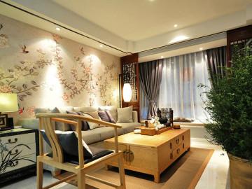 古色古香中式婚房 89平两室一厅