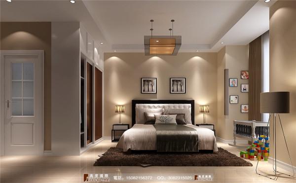 九龙仓御园卧室细节效果图---成都高度国际装饰