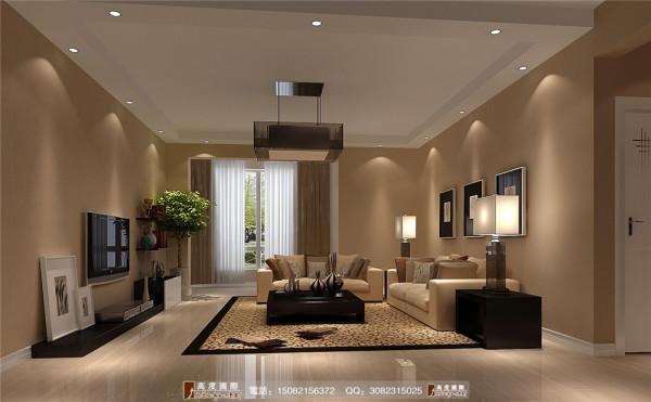 九龙仓御园客厅细节效果图---成都高度国际装饰