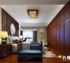 富通城新中式风格四居室