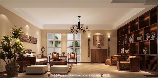 四海逸家休闲室细节效果图----高度国际装饰设计