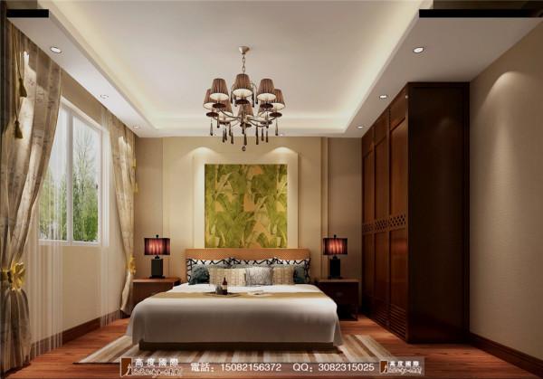 四海逸家卧室细节效果图----高度国际装饰设计