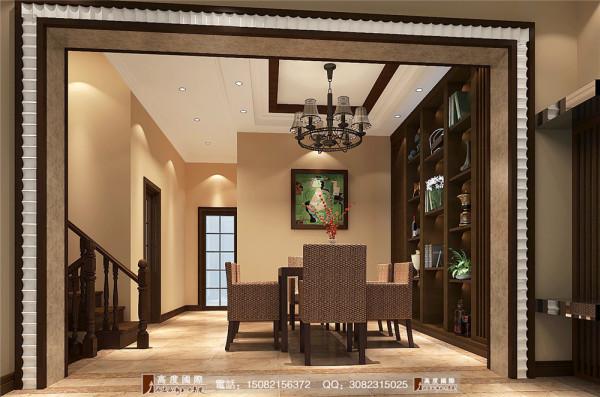四海逸家餐厅细节效果图----高度国际装饰设计
