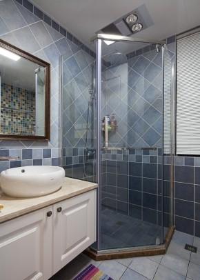 简约 小清新 三居 美式 简美 小资 卫生间图片来自佰辰生活装饰在一墙花开一窗暖阳 89平三室两厅的分享