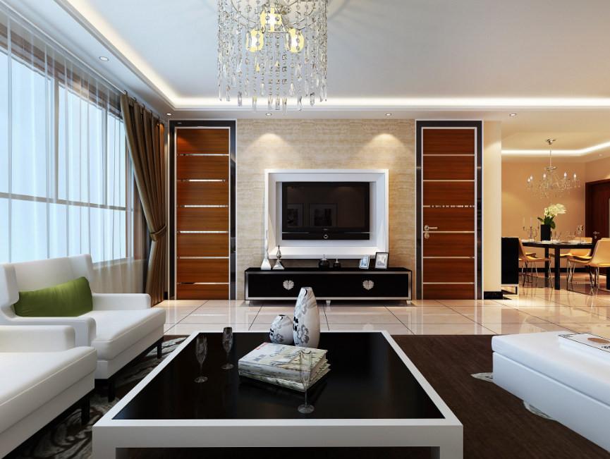 客厅又称起居室、会客厅,顾名思义是主人会客的空间,在人们的日常生活中使用是最为频繁的,是会客、聚会、娱乐、家庭成员聚谈的主要场所。作为整间屋子的中心,以体现主人的品位和意境。
