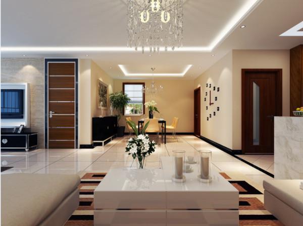 客厅设计:相近色和互补色简约色彩作品有着独特的韵味和品位,简约版连空白都有魅力,简约图像构图鲜明,提炼出设计的精华最直接传达设计意图