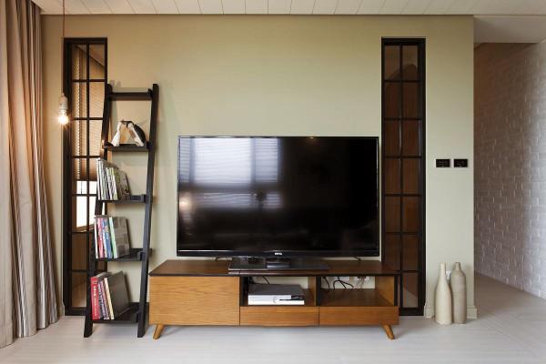 新中式极简现代客厅装修效果图片