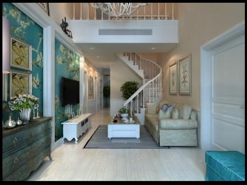 卓越蔚蓝群岛美式设计
