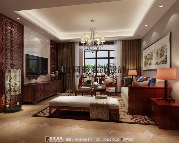 首航欣程客厅细节效果图----高度国际装饰设计
