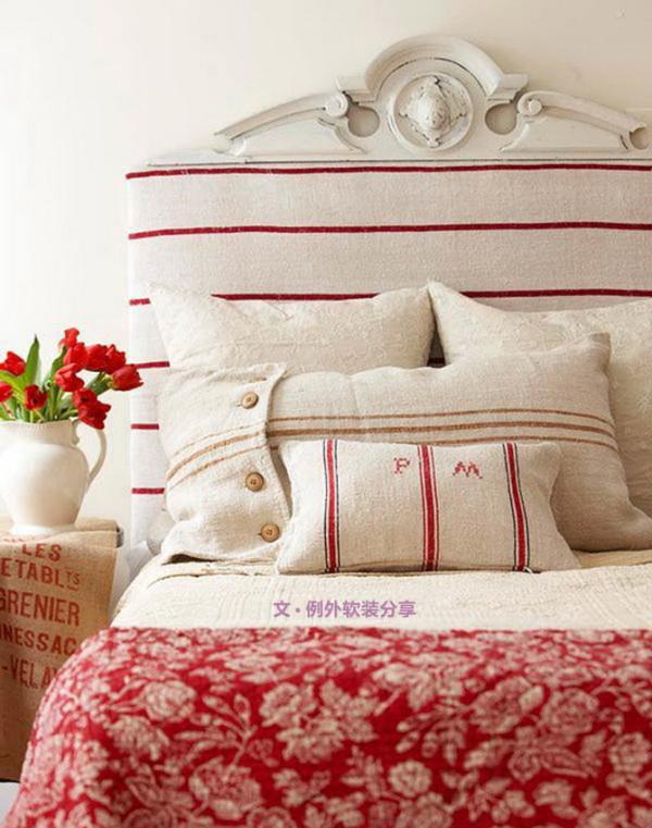 卧室同样是彻底展现个性的私人空间,传闻法王路易十四就曾经把宴会厅和沙龙场所装饰得奢华繁复,但卧室设计却是他情有独钟的简洁风格。所以说卧室家具和饰品的选择是你作为主人的爱好表现。