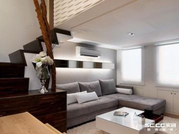 41平loft现代简约空间设计