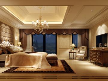 整个空间散发出豪华又优雅的气息