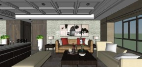 简约 现代 客厅 餐厅 卧室 其他图片来自长沙东易日盛装饰在北辰定江洋 现代简约风格的分享