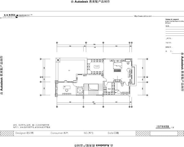 三楼规划图