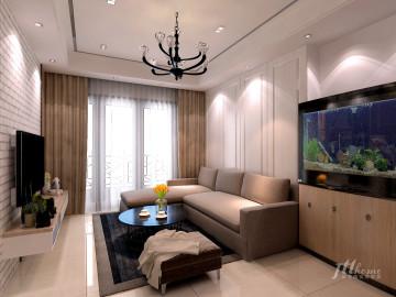四季御园现代简约三居室