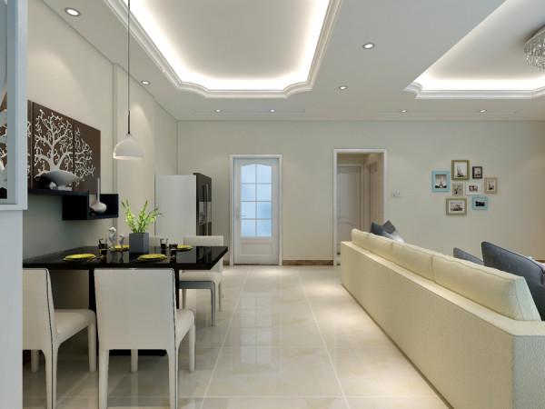 花果园四房经典现代风格设计 欣赏113平宁静致远的气质美家