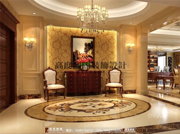 龙湖世纪峰景门厅细节效果图---高度国际装饰设计