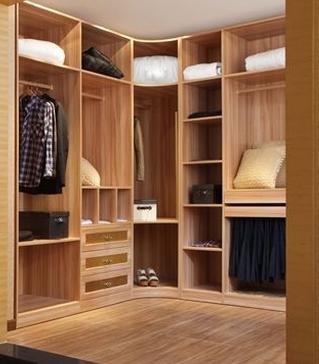 原木风情——衣柜