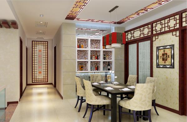 中式风格的客厅具有内蕴的风格,为了舒服,中式的环境中也常常用到沙发,但颜色仍然体现着中式的古朴,中式这样表现使整体空间,传统中透着现代,现代中揉着古典。