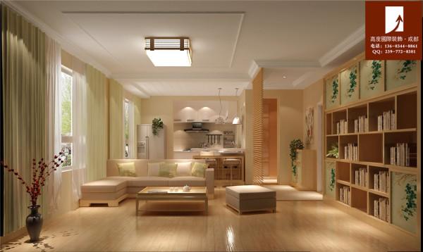 【高清】日式风也能这样美轮美奂 客厅