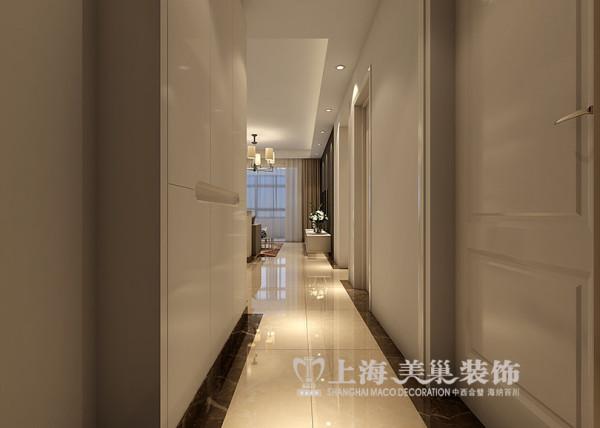 上东城90平两室两厅现代简约风格装修效果图--走廊