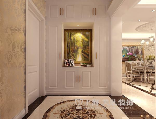 鑫苑世家180平4室2厅简欧风格装修效果图--门厅