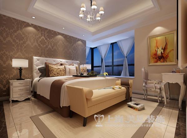 郑州鑫苑世家180平四室两厅简欧风格装修效果图--卧室