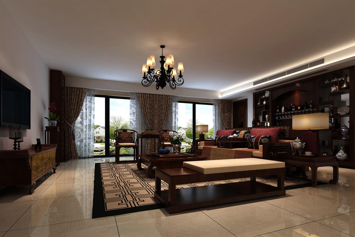 客厅图片来自广州名雕装饰在空间简单明显,设计自然的分享